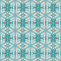 Nahtloses Muster von Schneeflocken