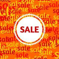 Försäljningsaffisch vektor