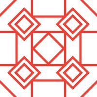 geometrischer Musterhintergrund vektor