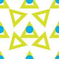 Geometrisches sich wiederholendes Muster vektor