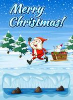 Eine Snowt frohe Weihnacht-Karte