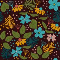 Lässt Textur-Muster. Pflanzen- und Blattmuster Hintergrund