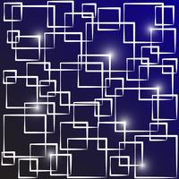 Abstract Vector Hintergrund (Überlappung quadratische Form)