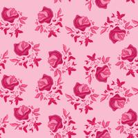 pinky blommönster vektor