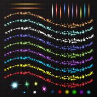 Ljus element design vektor
