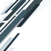 abstrakte schwarze Linie und weißer Hintergrund vektor