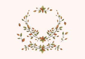 Blumenabzeichen-Sammlung