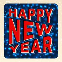 Frohes neues Jahr vektor