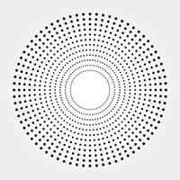 halvtonmönster vektor bakgrund