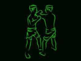 boxning vektor