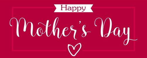 mors dag hälsningskort. glad mamma s dag elegant kalligrafi banner bokstäver vektor text i ram bakgrund.