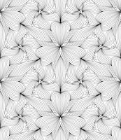 Abstraktes nahtloses geometrisches Muster, Vektorillustration.