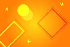 abstrakter Hintergrund mit Farbverlauf Dynamische Formen Komposition vektor