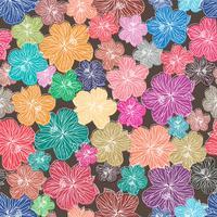 Florales Element nahtlose Hintergrund.