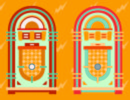 Jukebox vektor