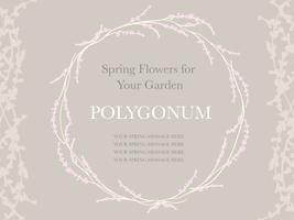 Frühlingsblumenkranz, Vektorillustration. vektor