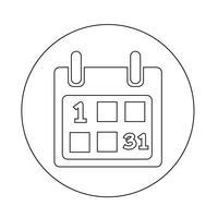 Kalender Ikon