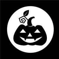 Halloween Kürbis-Symbol