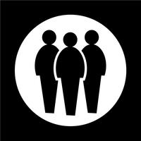 Menschen-Symbol vektor