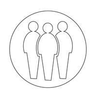 Menschen-Symbol