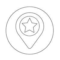 Kartensymbol Zeiger