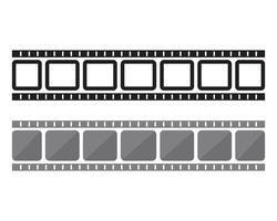 Filmstreifen Vektor Vorlage Illustration Designs