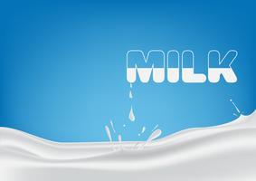 mjölk vektor