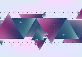 Abstrakter Dreieckhintergrund. vektor