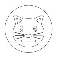 Katzen-Symbol