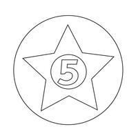 femstjärnigt hotell ikon