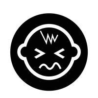 Baby ikon vektor