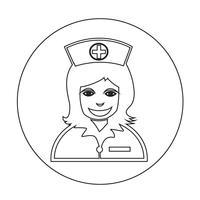 Krankenschwester-Symbol