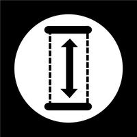 Höhe-Symbol