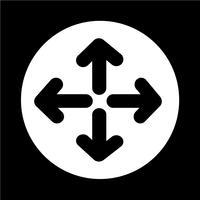 Vollbild-Symbol vektor