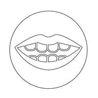 Mund-Symbol