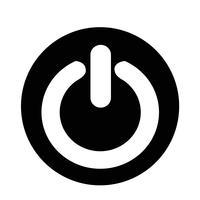 På Avbrytare-ikonen vektor