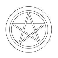 Pentagramm-Symbol