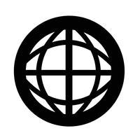 Globus Erde-Symbol