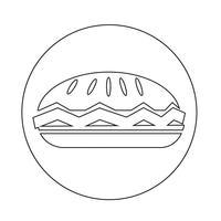 mat cirkel ikon