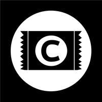 Kondom-Symbol vektor