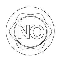 ingen knapp