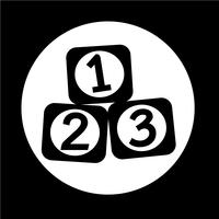 123 Blocks-Symbol