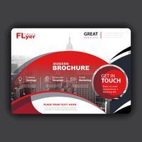 Vektor Broschüre Cover Präsentation