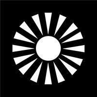 Zeichen der Sonne-Symbol