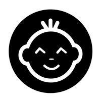 Baby Gesichtssymbol
