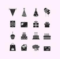 Geburtstag Vector Symbol Pack