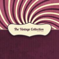 Vintage Hintergrund mit Etikett