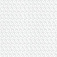 Weißer Bienenwabenhintergrund. Papierkunstmuster