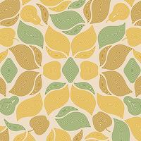 Abstrakte Herbstblatt-Musterabbildung vektor
