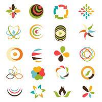 Business-Logo-Auflistung vektor